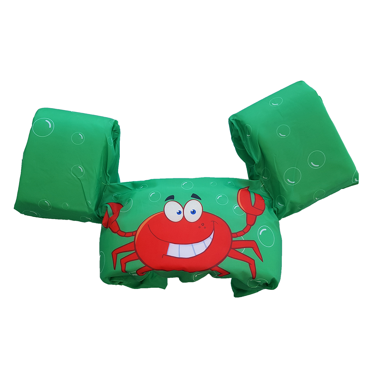 New 3-part float, Green Crab