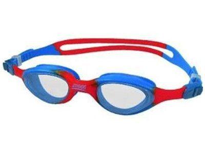 Zoggs Little Super Seal uimalasit lapsille puna-sini väri