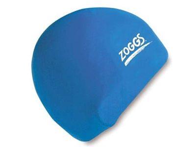 Zoggs silicone swim cap, Blue