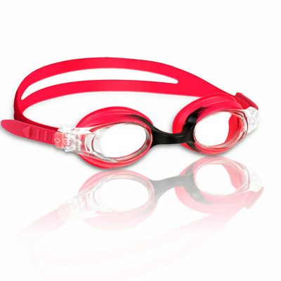 Guppy Goggles swimming goggles, Red-Black