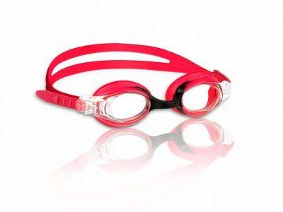 Guppy Goggles uimalasit lapsille puna-musta