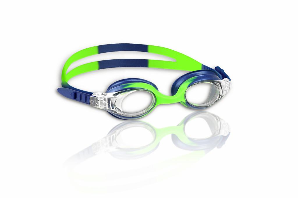 Guppy Goggles uimalasit lapsille sini-vihreä